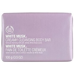 Body Shop  White Musk creamy cleansing body bar