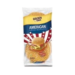 Golden Toast American Mega Burger