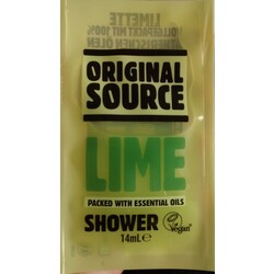 Lime packed with essential oils Shower