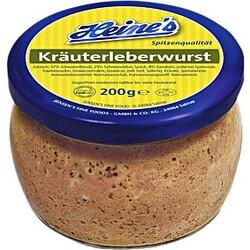Heine's Kräuterleberwurst