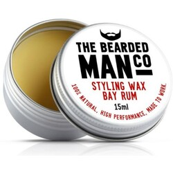 The Bearded Man Company - Moustache Wax Bay Rum - Bartwachs