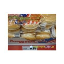 American Style - Hamburger Brötchen 6 Stück