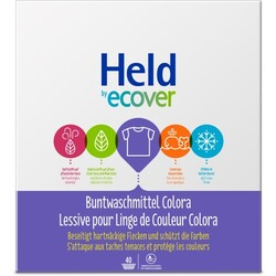HELD BY ECOVER Buntwaschmittel Colora 40WL