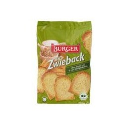 Burger – Bio-Zwieback 225g
