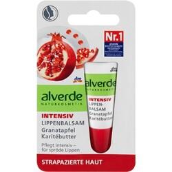 Alverde - Intensiv Lippenbalsam Granatapfel Karitébutter