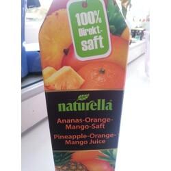 naturella Ananas-Orange-Mango-Saft