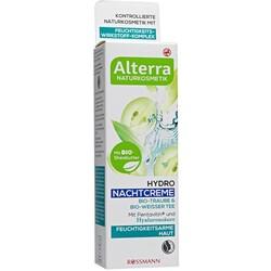 Alterra Hydro Nachtcreme Bio-Traube & Bio-Weisser Tee