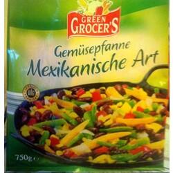Green Grocer´s Gemüsepfanne Mexikanische Art