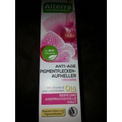 Alterra Anti Age Pigmentflecken Aufheller Orchidee