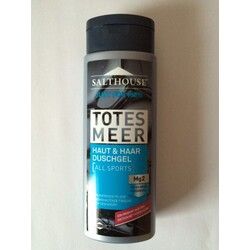 Salthouse Totes Meer Just for Men Duschgel All Sports, 250 ml