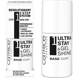 CATRICE 3 Ultra Stay & Gel Shine - Base Coat