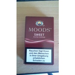 Moods sweet filter dipped
