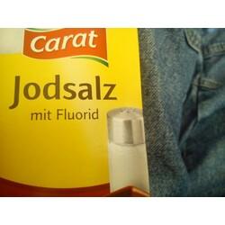 Carat Jodsalz mit Fluorid