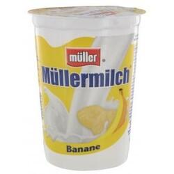 Müller  - Müllermilch Banane, im Becher