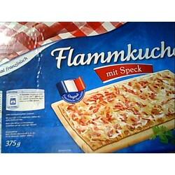 Jean Luc Flammkuchen mit Speck