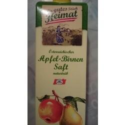 Österreichischer Apfel-Birnen Saft naturtrüb