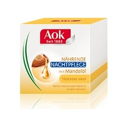 Aok Pur Nutrition Mandelöl nährende Nachtpflege