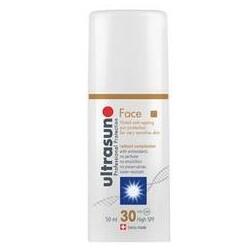 Ultrasun Face Tinted Anti-Ageing Sun Protection Sonnenspray SPF 30 50 ml