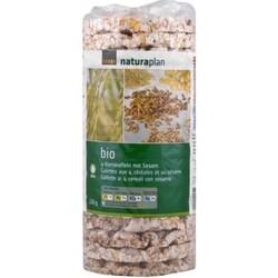 Coop Naturaplan Bio 4-Kornwaffeln mit Sesam
