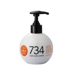 Revlon Professional Haarpflege Nutri Color Creme 734 Kupfergold 100 ml