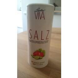 Salz Natrium reduziert