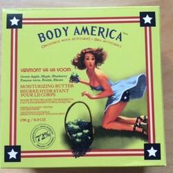 Body America - Vermont Va Va Voom, Body Butter