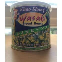 Wasabi Broad Beans
