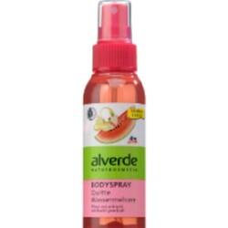 alverde Bodyspray Quitte Wassermelone