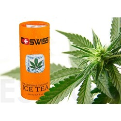 C+SWISS - The original Cannabis ICE TEA, ohne THC