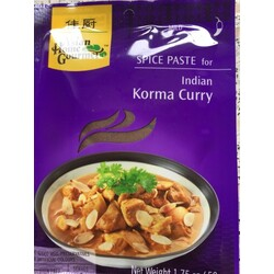 Asian Home Gourmet Indisches Korma Curry mild (50g Packung)