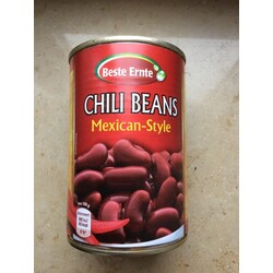 Beste Ernte Chili Beans Mexican Style