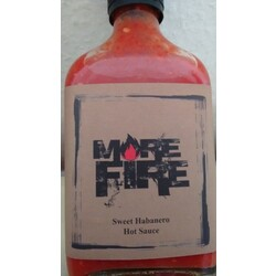 More Fire - Sweet Habanero Hot Sauce