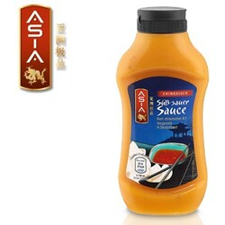 Asia - Chinesisch - Süß-Sauer Sauce / Sweet Chili Sauce / Curry Sauce