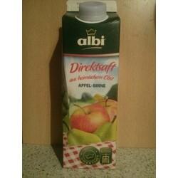 albi Direktsaft Apfel mit Birne, 1 l