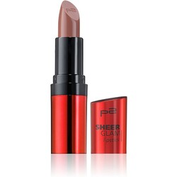 p2 SHEER GLAM lipstick 009 Message in a Bottle