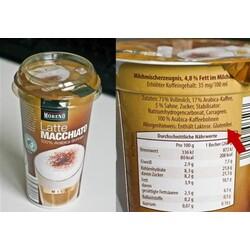 Moreno - Latte Cappuccino oder Latte Espresso oder Latte Macchiato oder Latte Macchiato mit Karamellgeschmack