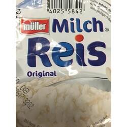 Müller Milch – Milchreis Original