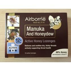 Airborne Manuka and Honeydew Lozenges