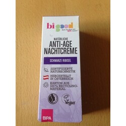 bi good Anti-Age Nachtcreme