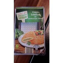 Veggie Schnitzel mit Brokkoli-Käse Füllung