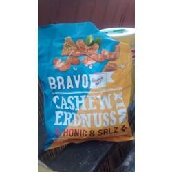 Bravo Cashew Erdnuss Mix Honig & Salz