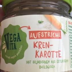 VegaVita Aufstrich Kren-Karotte