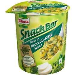 Knorr Snack Bar Nudeln in Broccoli-​Käse-​Sauce