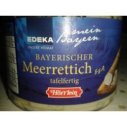 Bayerischer Meerrettich von Edeka