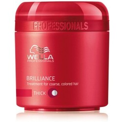 Wella Pofessionals Brilliance Mask für kräftiges, coloriertes Haar 150 ml