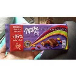 Milka Bunte Kakaolinsen +15% gratis, 115 g