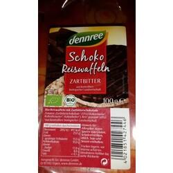 Schoko Reiswaffeln - Zartbitter