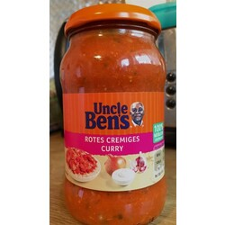 Uncle Ben's Indisch Rotes Cremiges Curry