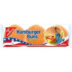 GUT&GÜNSTIG Hamburger Buns mit Sesam