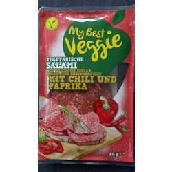 vegetarische Salami